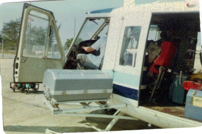 Crystal pack instalation of a Bell 412